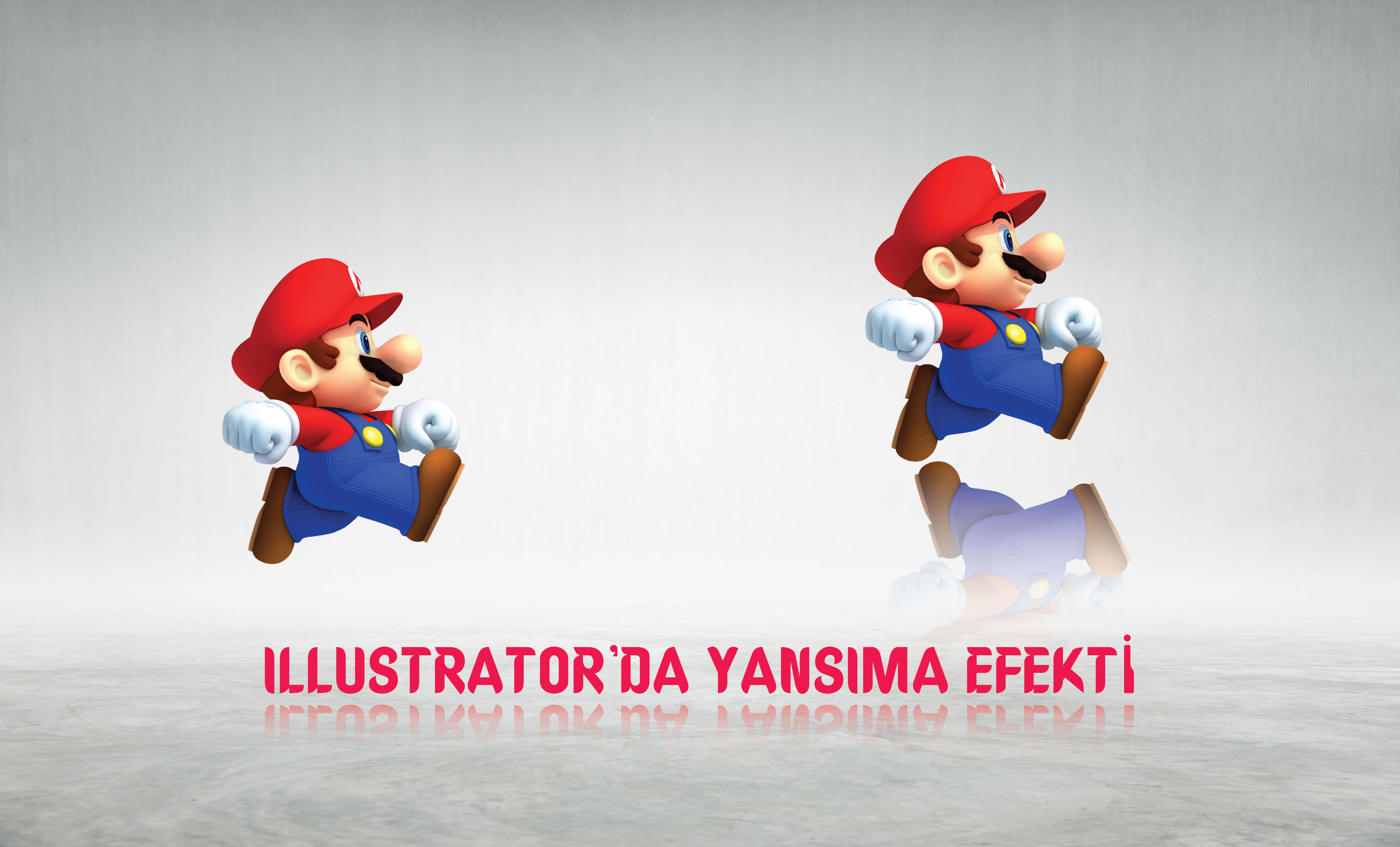 Photo of İllustrator yansıma efekti