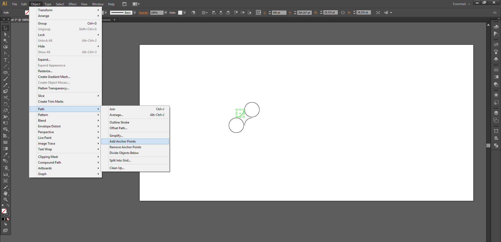 Illustrator'da Organik Teknoloji Simgesi