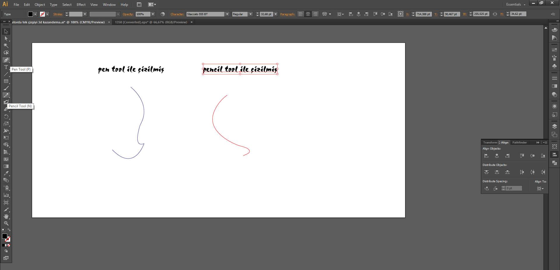 Illustrator'da Tek Çizgiyi 3D Yapmanın Önemi Nedir ?