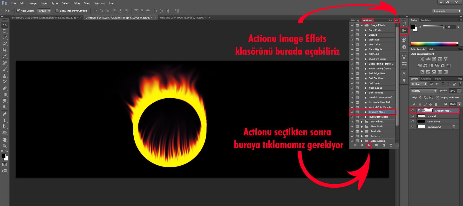 Photoshop Ateş Efekti Neden Yaparız ?