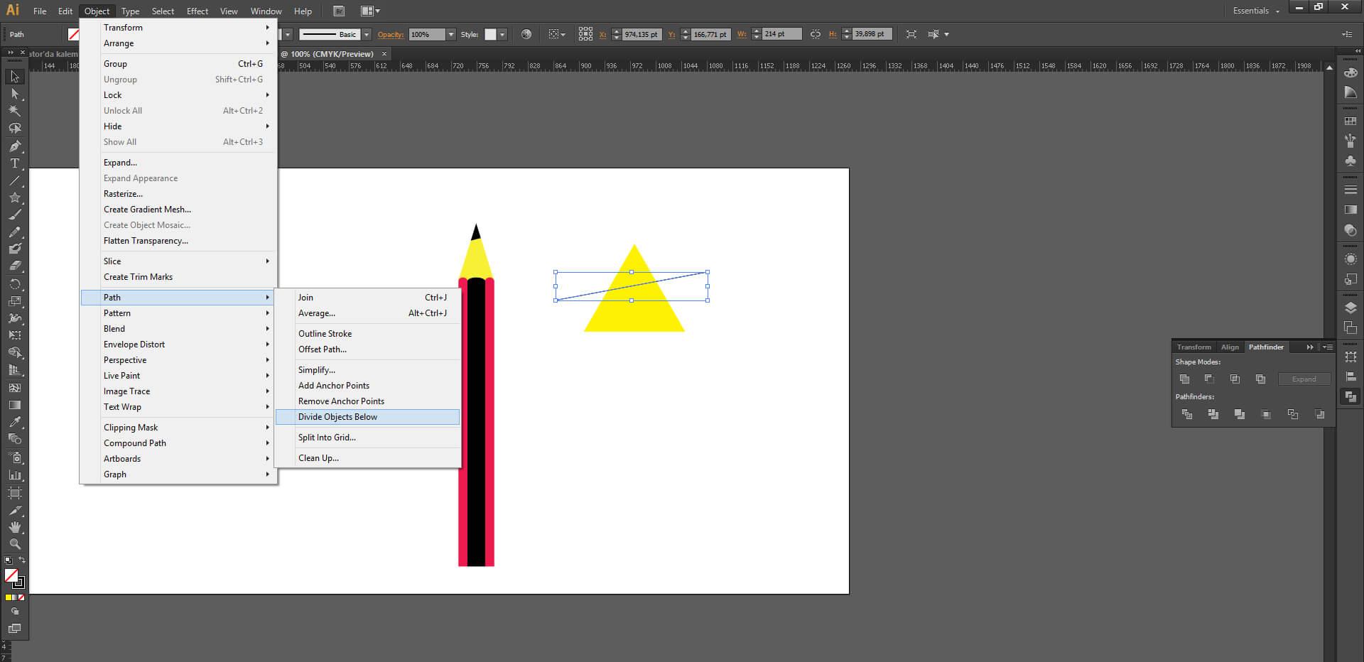Illustrator'da Kalem Nasıl Yapılır ?