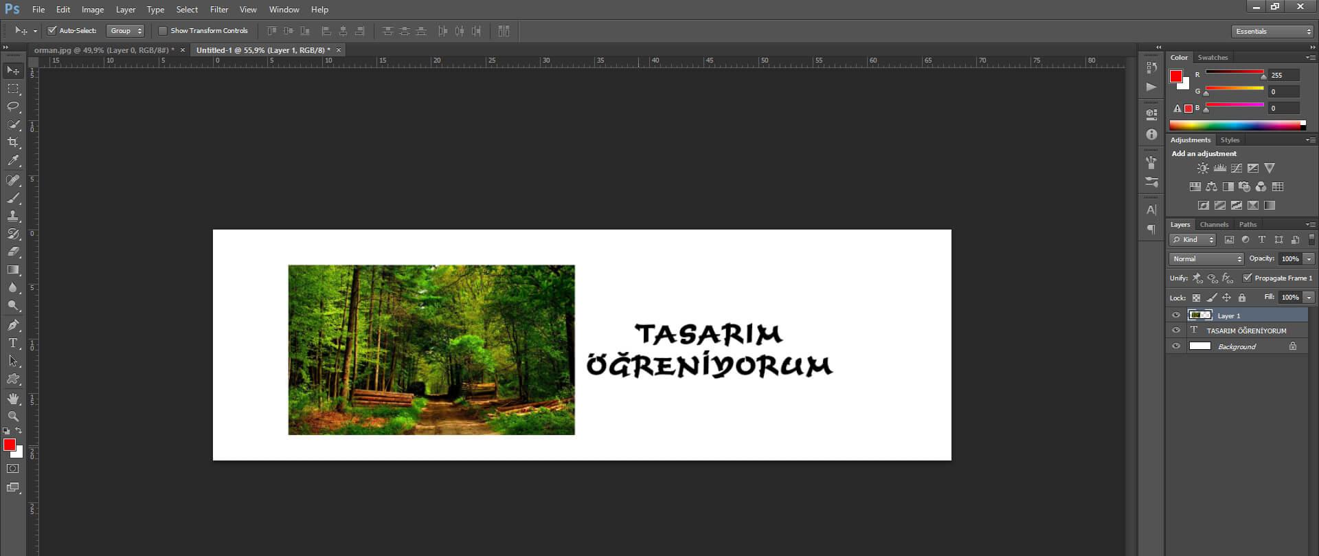 Photoshop Yazıya Resim Dokusu Vermenin Önemi Nedir ?