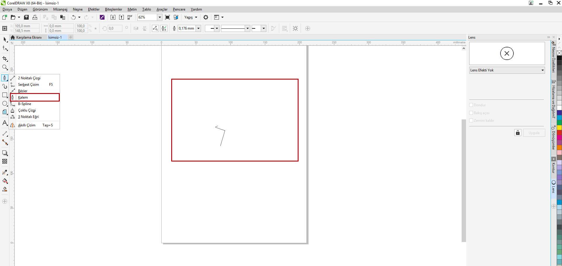 Corel Draw'da Yaprak Nasıl Çizilir ?