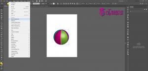 Illustrator Deniz Topu Yapmak