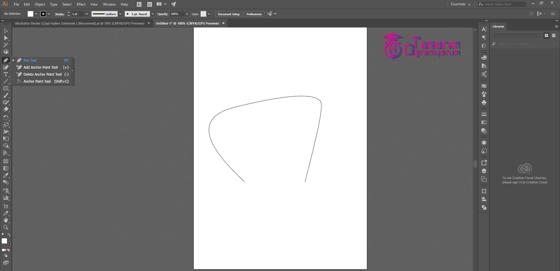 Illustrator Kesik Çizgi Yapmak