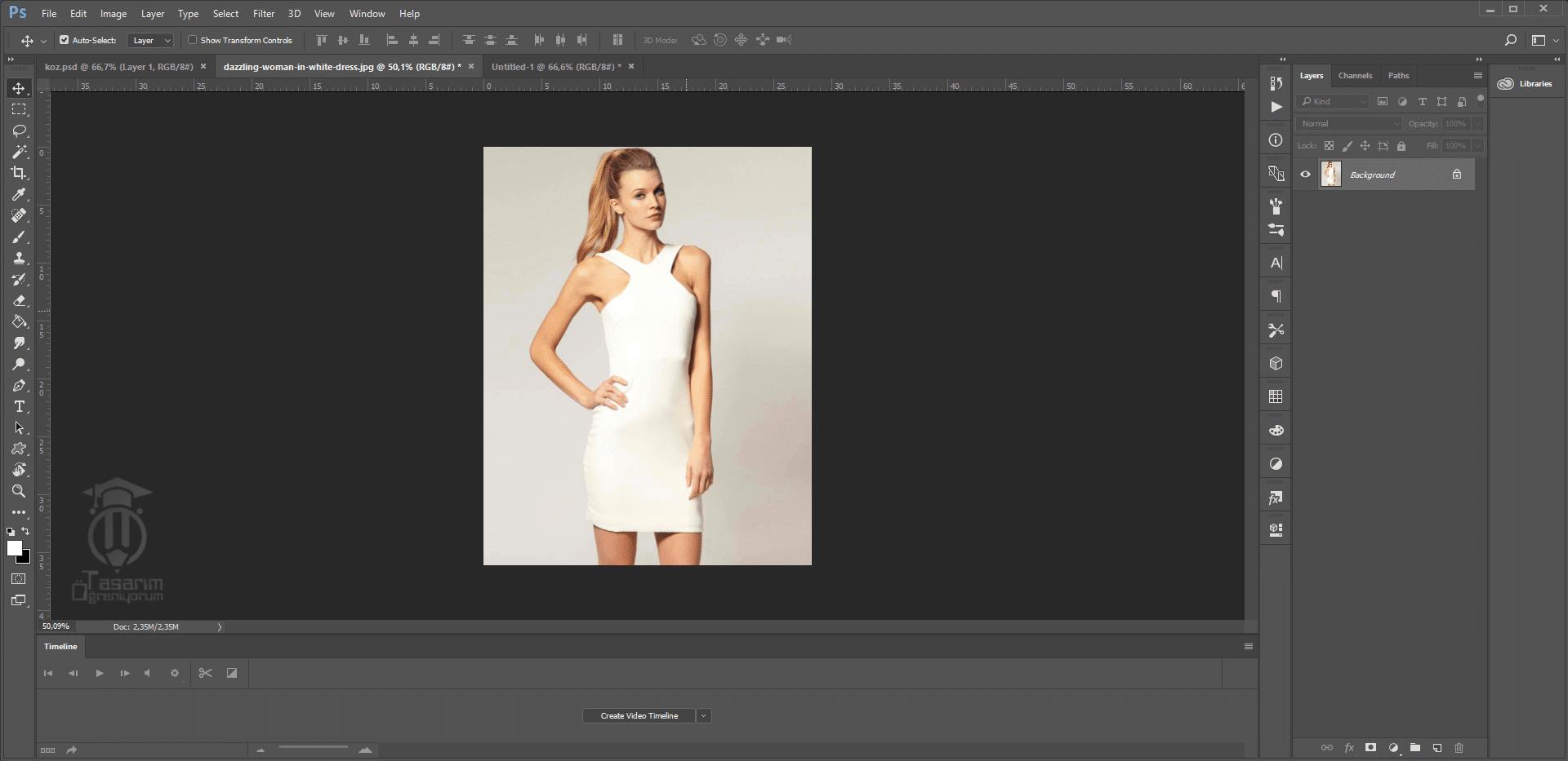 Photoshop Giysilere Desen Ekleme
