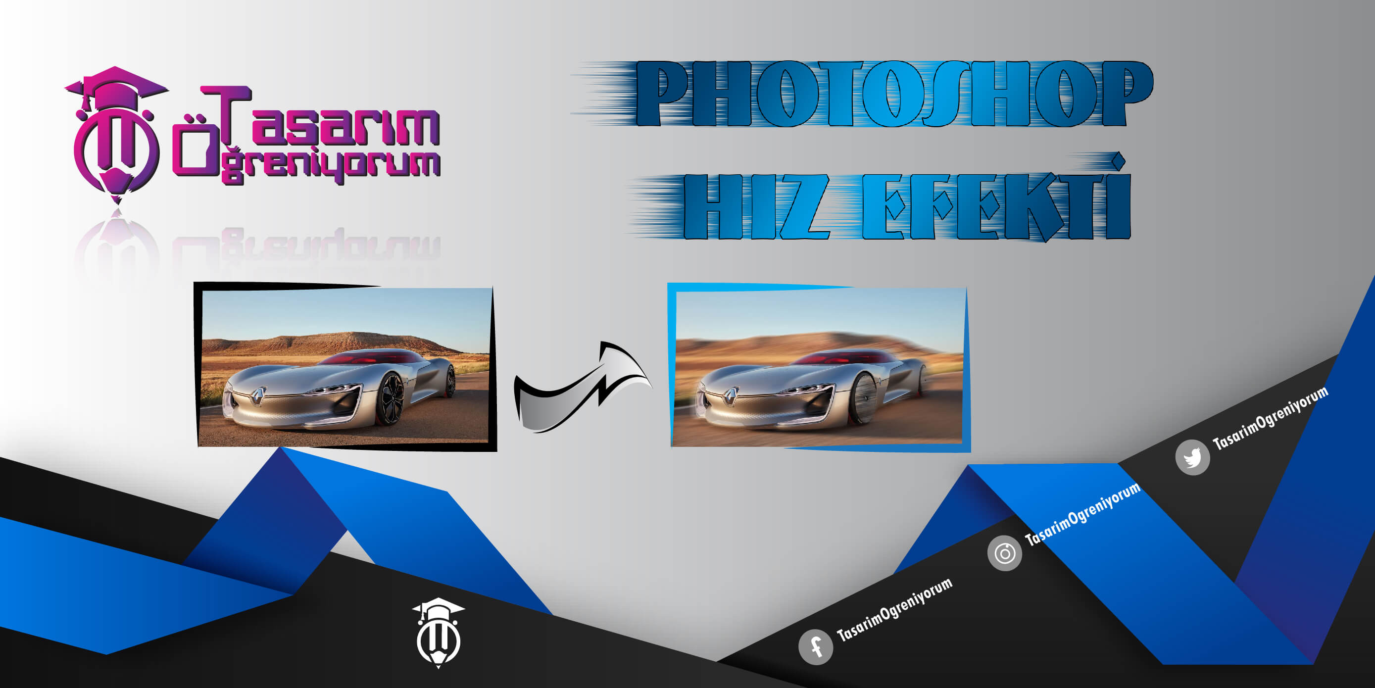 Photo of Photoshop Hız Efekti